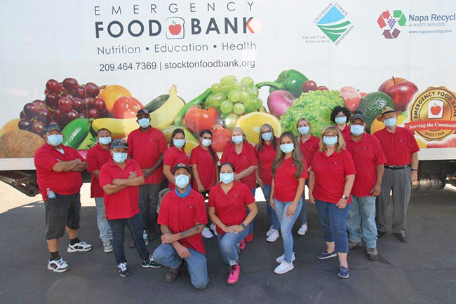 Emergency Food Bank Staff 2020